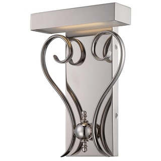 Nuvo Coco Polished Nickel 1-light LED Wall Sconce