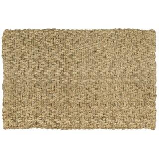 Nourison Basket-weave Nature Rug (2' x 3')