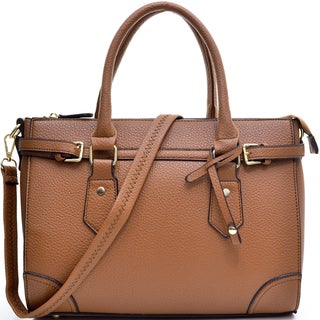 Link to Dasein Adjustable Top Satchel with Removable Shoulder Strap Similar Items in Shop By Style