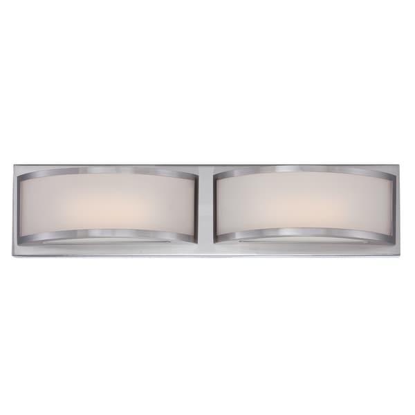Shop Nuvo Mercer 2-light LED Vanity