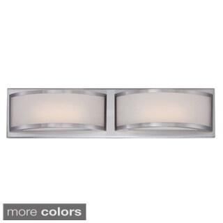 Nuvo Mercer 2-light LED Vanity