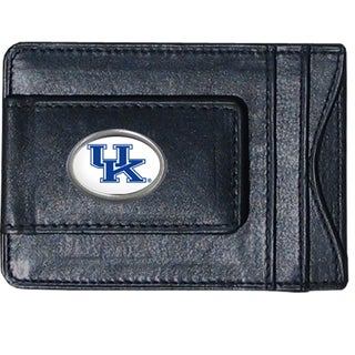 Kentucky Wildcats Leather Money Clip and Cardholder