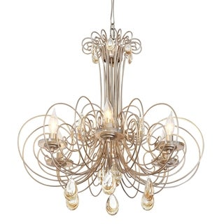 Varaluz Elysse Gold Dust 6-light Chandelier