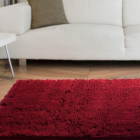 Lavish Home High-pile Super Plush Rug