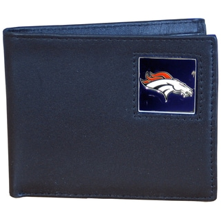 NFL Denver Broncos Leather Bi-fold Wallet