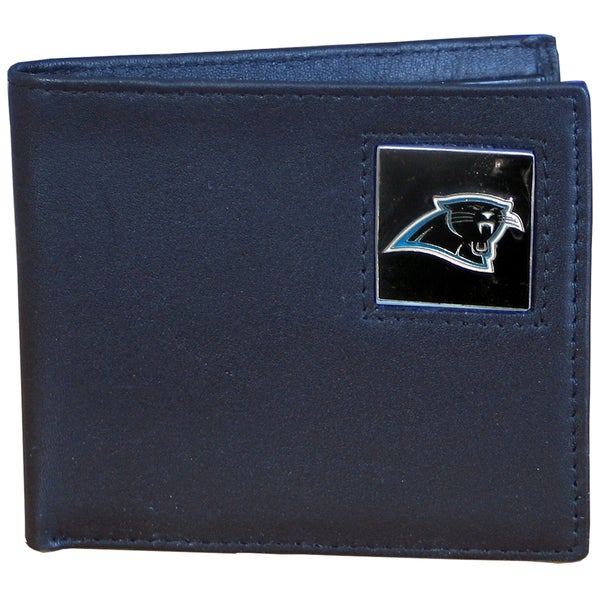 NFL Carolina Panthers Leather Bi-fold Wallet