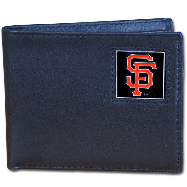 MLB San Francisco Giants Leather Bi-fold Wallet