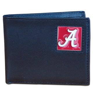 NCAA Alabama Crimson Tide Leather Bi-fold Wallet