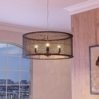 Varaluz Lite-mesh 4-light New Bronze Pendant