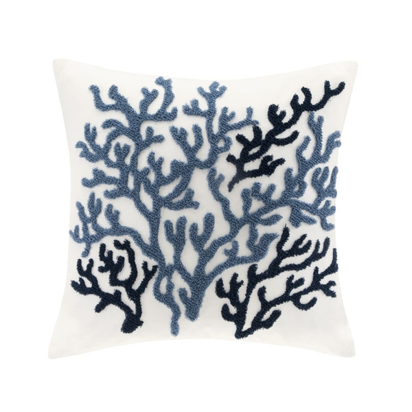 Harbor House Beach House Cotton 18-inch Throw Pillow. Opens flyout.