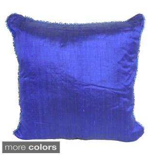 Silk Square Cushion Throw Pillow