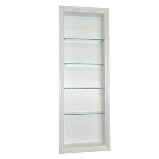 42-inch Recessed In-the-wall Belle Isle Niche in White