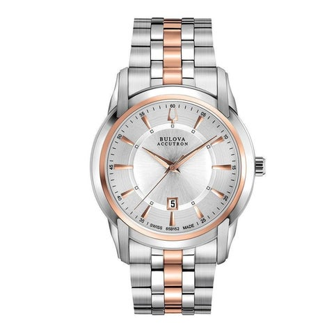 Bulova Accutron Men's 'Sorengo' Stainless Steel Quartz Watch