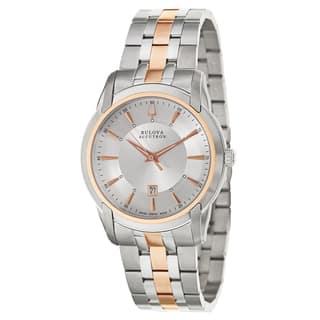 Bulova Accutron Men's 65B152 'Sorengo' Stainless Steel Quartz Watch|https://ak1.ostkcdn.com/images/products/9445252/P16630141.jpg?impolicy=medium