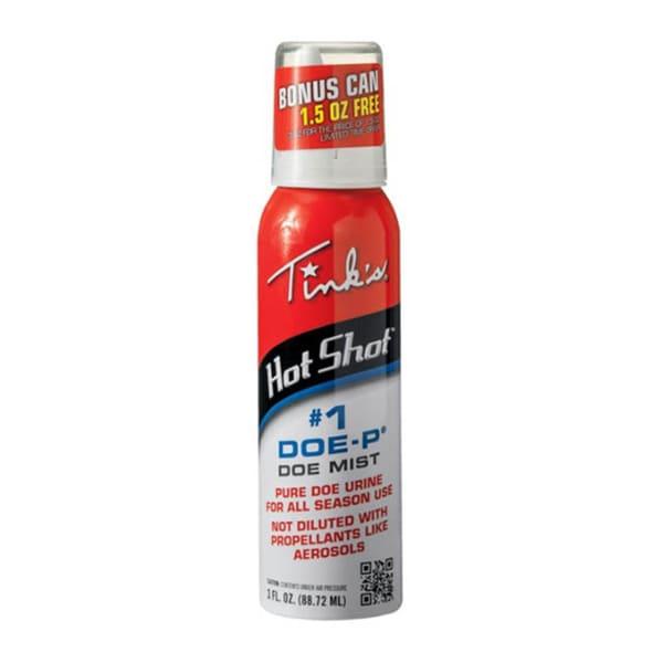 Tink's Doe-P Hot Shot 3-ounce Deer Attractant Spray