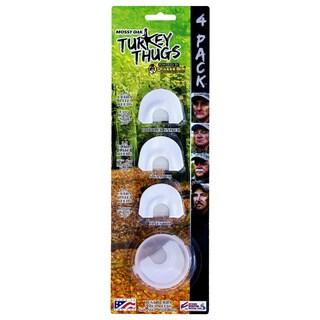 Quaker Boy Turkey Thugs 4-piece Mouth Call Set