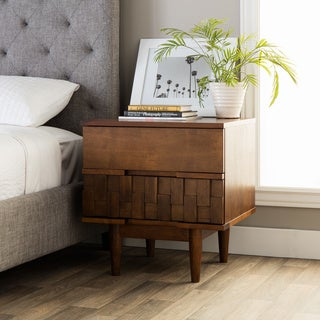 Strick & Bolton Tessuto 2-drawer Night Stand