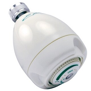 Niagara Earth Massage N2920 White Showerhead