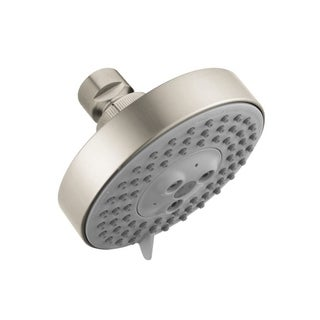Hansgrohe Raindance S 100 2.0 GPM Brushed Nickel 3-jet Showerhead