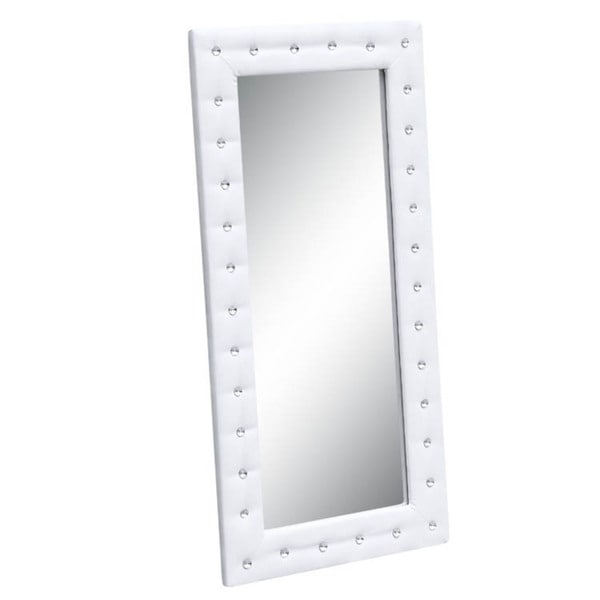 Shop Tufted Mirror Free Shipping Today Overstock 9445916