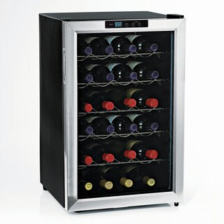 Wine Enthusiast Silent 28 Bottle Single Zone Wine Refrigerator