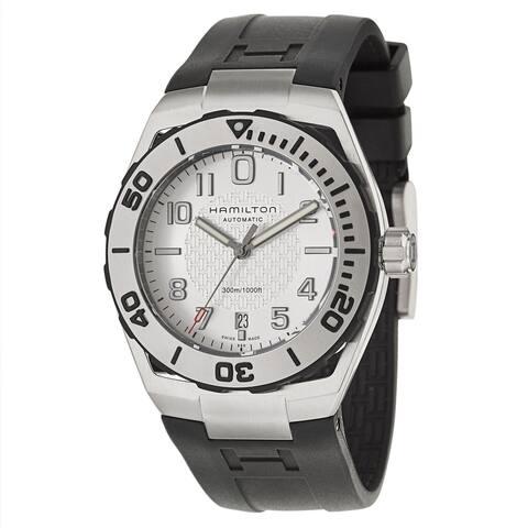 Hamilton Men's Khaki Navy SUB Black/ White Watch