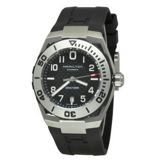 Hamilton Men's H78615335 Khaki Navy SUB Black/ Black Watch
