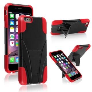 "INSTEN Handsfree Kickstand PC Silicone Hybrid Case for Apple iPhone 6 Plus 5.5"""