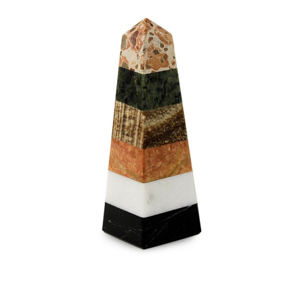 Handmade Multi-Gemstone 'Total Energy' Obelisk (Peru)