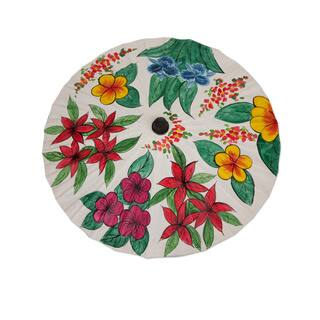 Handcrafted Saa Paper Bamboo 'Flora of Thailand' Parasol (Thailand) https://ak1.ostkcdn.com/images/products/9447065/P16631768.jpg?impolicy=medium