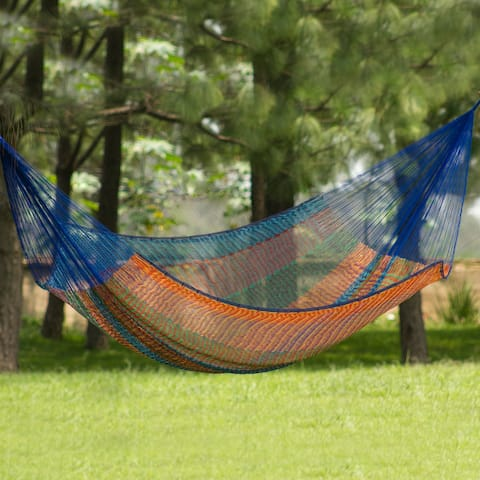Cotton 'Colors of Mexico' Hammock (Double)