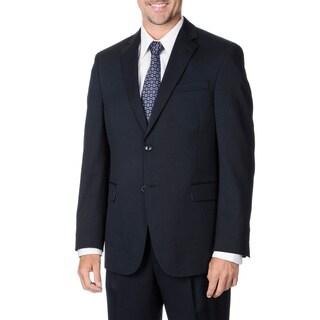 Palm Beach Men's Navy 2-button Suit Separate Wool Blazer