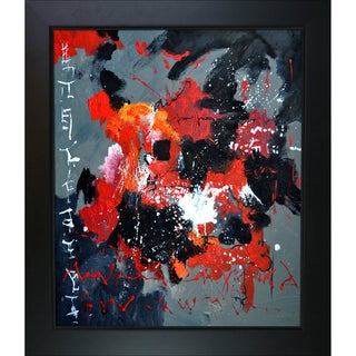 Pol Ledent 'Abstract 665055' Framed Fine Art Print