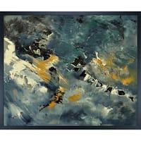 Pol Ledent 'Abstract 882111' Framed Fine Art Print