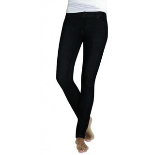 MeMoi Women's Zipper Placket Jeggings