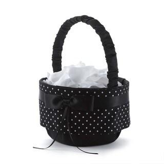 Polka Dot Flower Basket