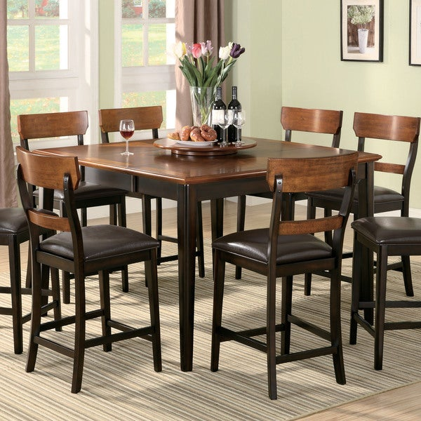 Coaster company franklin two tone counter height dining for Coaster co of america furniture