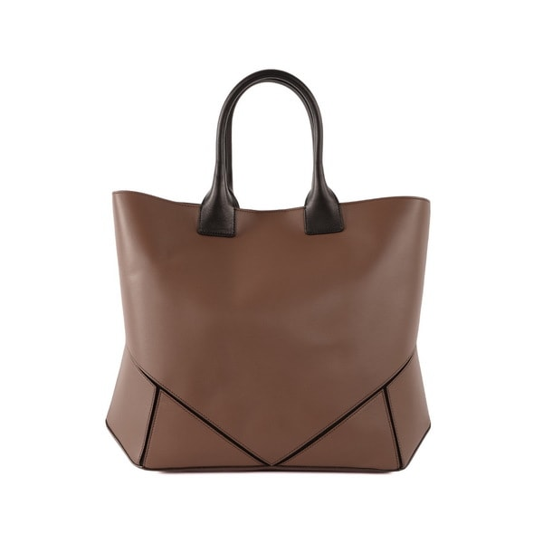 Givenchy 'Easy' Brown Napa Leather Shopping Bag