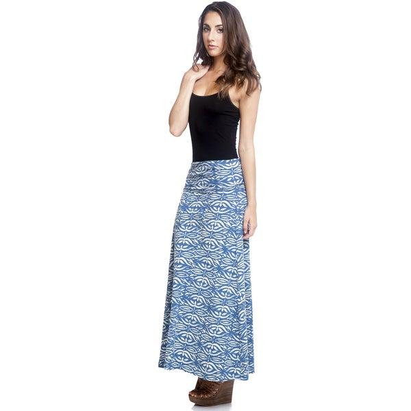 2be608d07032 Shop Handmade Women s Organic Cotton Batik Maxi Skirt (Nepal) - Free ...