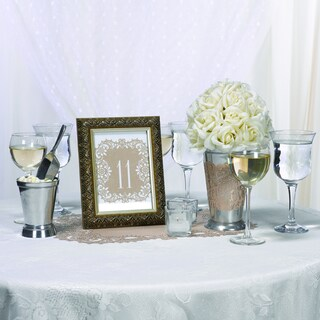 Kraft Laser-cut Table 11-20 Numbers Cards