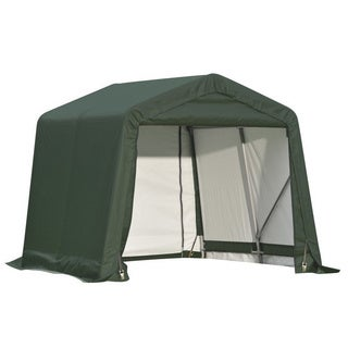 Shelterlogic Outdoor Garage Automotive/ Boat Green 16 x 10-foot Storage Shed