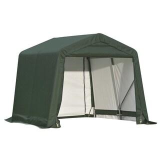 Shelterlogic Outdoor Garage Automotive/ Boat Green 12 x 11-foot Storage Shed