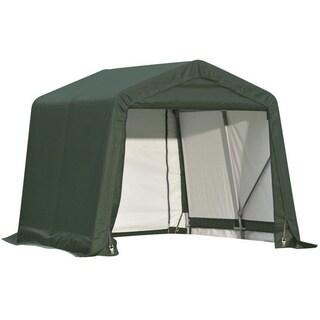 Shelterlogic Outdoor Garage Automotive/ Boat Green 8 x 12 x 8-foot Storage Shed