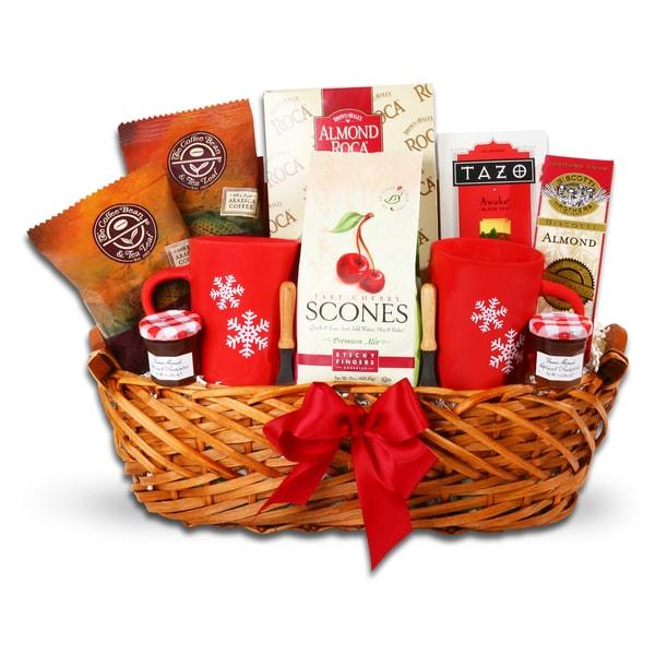 Alder Creek Holiday Breakfast in Bed Gift Basket