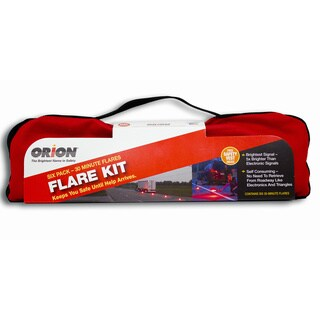 Orion Safety Products 6030 Emergency Kit 30 Minute Road Flare (Set of 6)