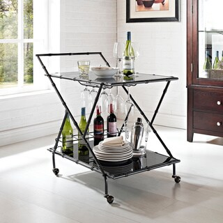 Powell Sylvia Serving Cart