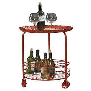 Powell Retro Bottle Wine Rack