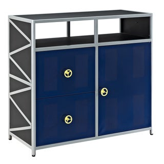 Powell Lando Dune Buggy 2-drawer 1Dr Cabinet