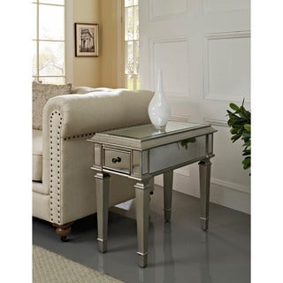 Powell Bethany Mirrored Side Table