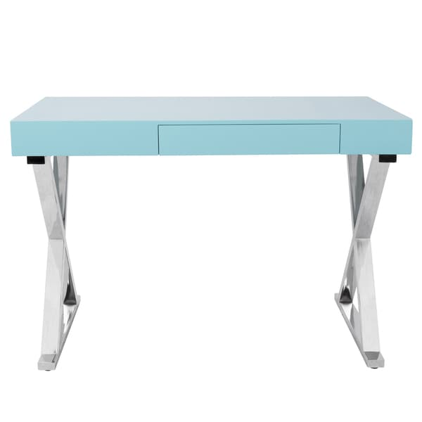 shop lumisource luster contemporary office desk free shipping